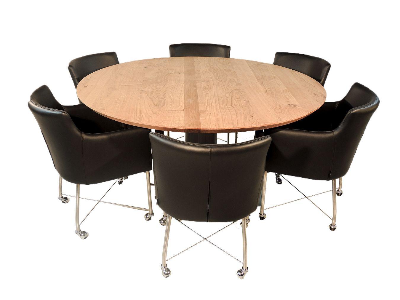 madison ronde eettafel voor 6 personen rond tafel 6personen eethoek pinterest eettafel. Black Bedroom Furniture Sets. Home Design Ideas