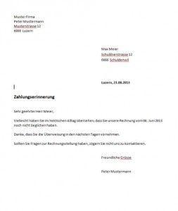 Mahnung Schweiz Vorlage Muster Und Vorlagen Pinterest