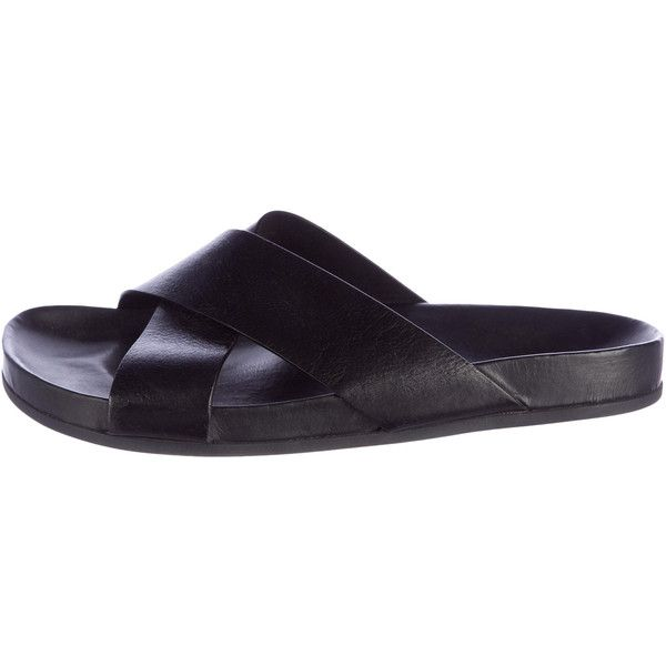 cheap sale purchase Woman by Common Projects Crossover Slide Sandals outlet order sale good selling 0gJN2yFQ8