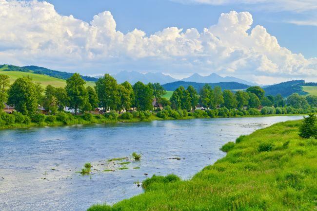 Rzeka Dunajec- Poland.