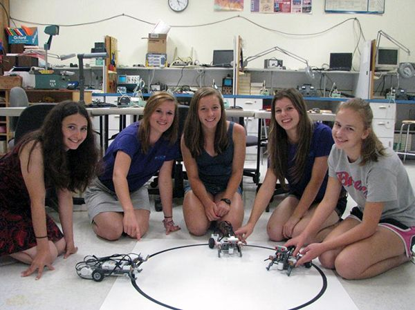 Robots, Glitter, and a New Spin on STEM | #ncwit