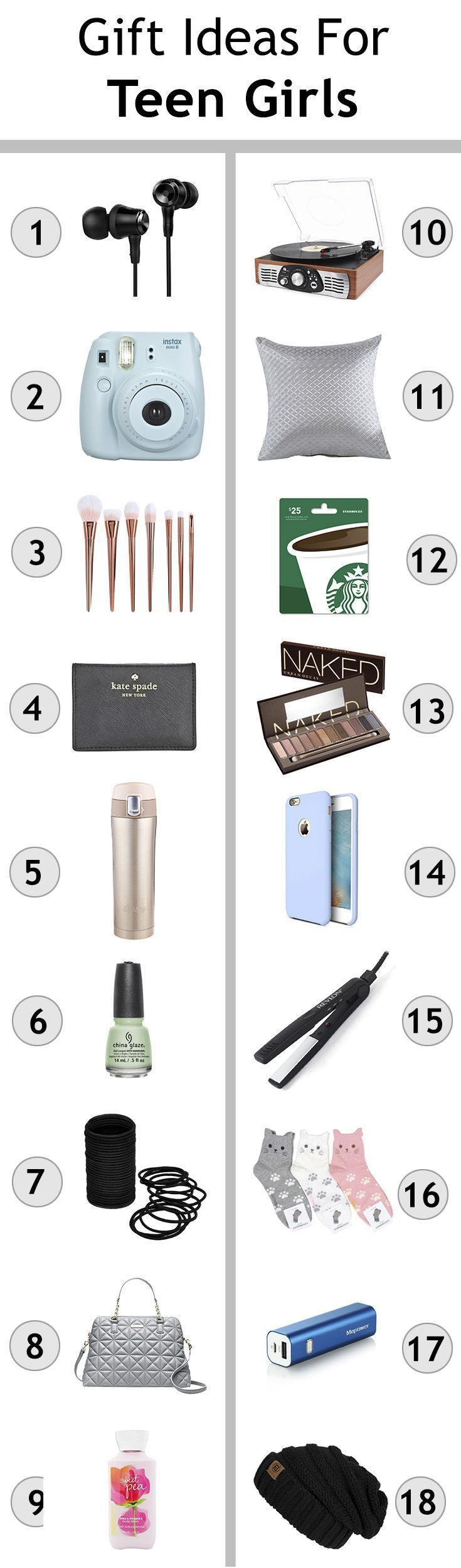 Gift Ideas For Teen Girls & Christmas Shopping For Teengers | Tips ...