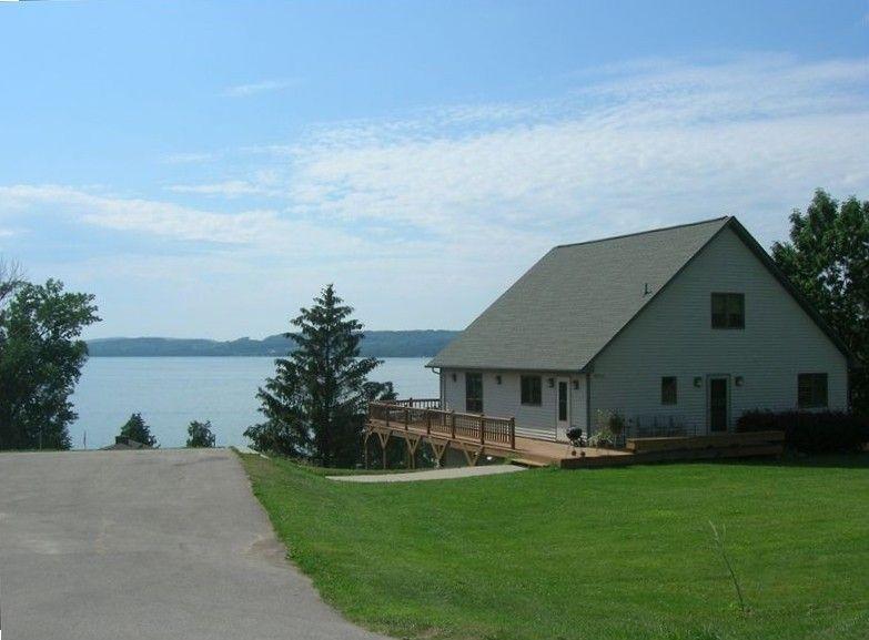 Chalet vacation rental in lake leelanau from