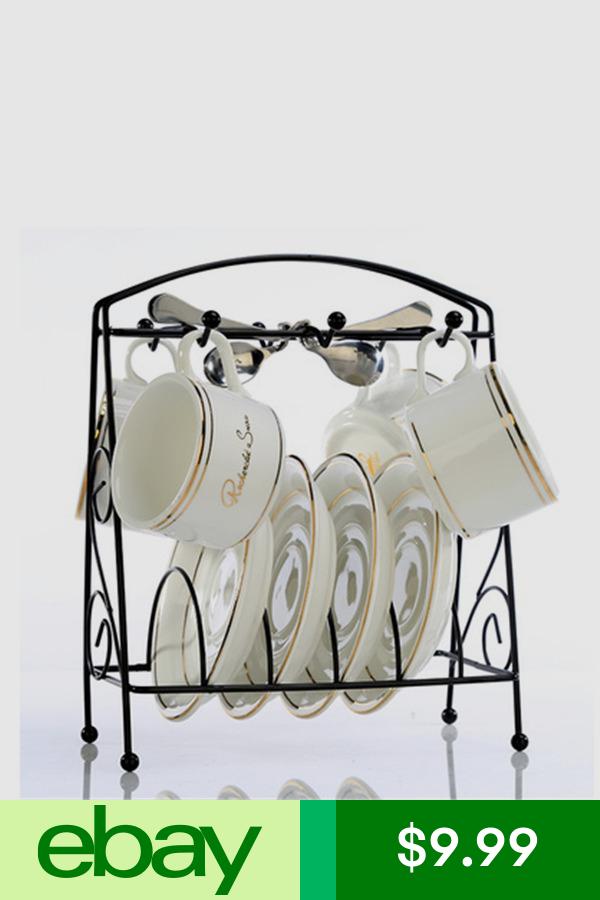 Hooks Hangers Home Garden Ebay Coffee Cup Holder Plate