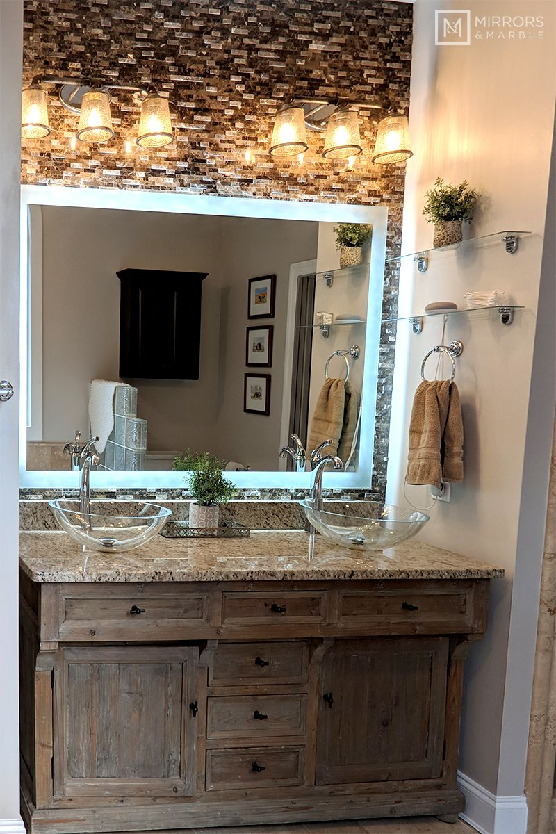 Side Lighted Led Bathroom Vanity Mirror 60 Bathroom Color Schemes Led Bathroom Master Bathroom Design