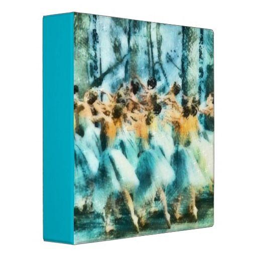 The Corps de Ballet 3 Ring Binder