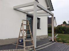 vordach selber bauen eingang pinterest vordach. Black Bedroom Furniture Sets. Home Design Ideas