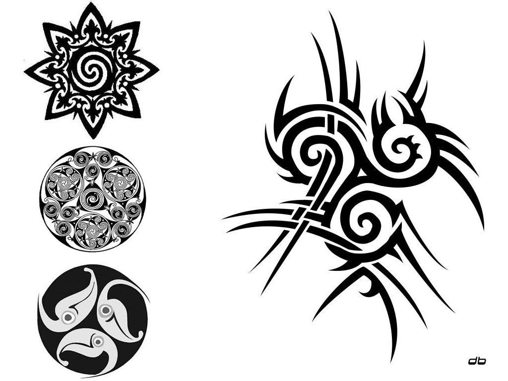 tribales 1024 768 simbolos pinterest