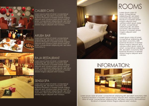 hotel brochure templates - brochure for hotel 17 hotel brochure design freecreatives