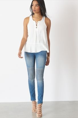 Kate High Rise Skinny Jeans in Perfectly Faded