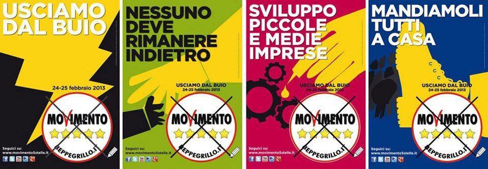Beppe Grillo e il Movimento 5 Stelle in diretta da Roma