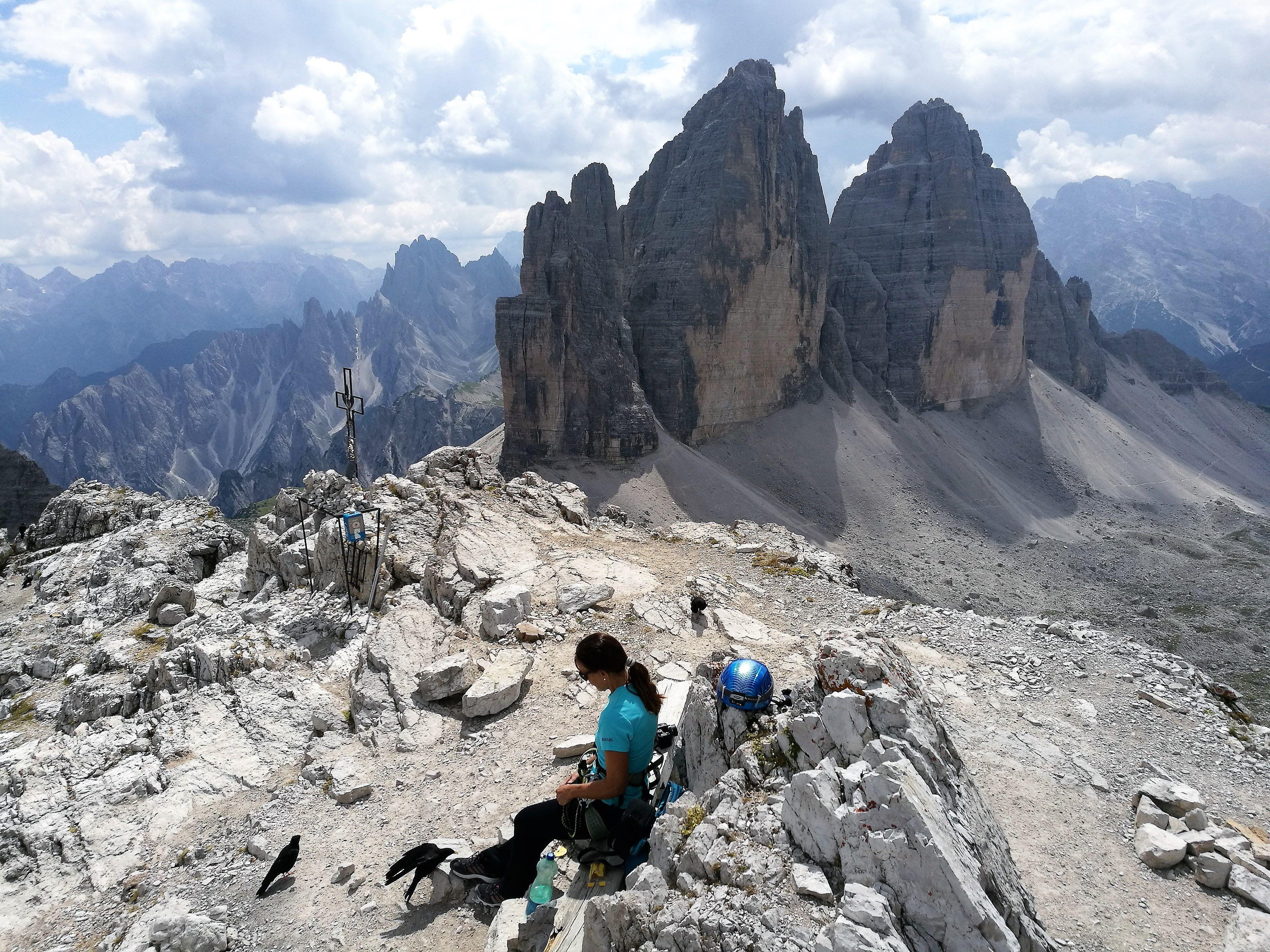 Klettersteig Via Ferrata : Via ferrata marino bianchi alpinschule dreizinnen