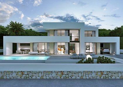 Huizen huis te koop spanje moderne villa costa blanca en for Te koop moderne woning