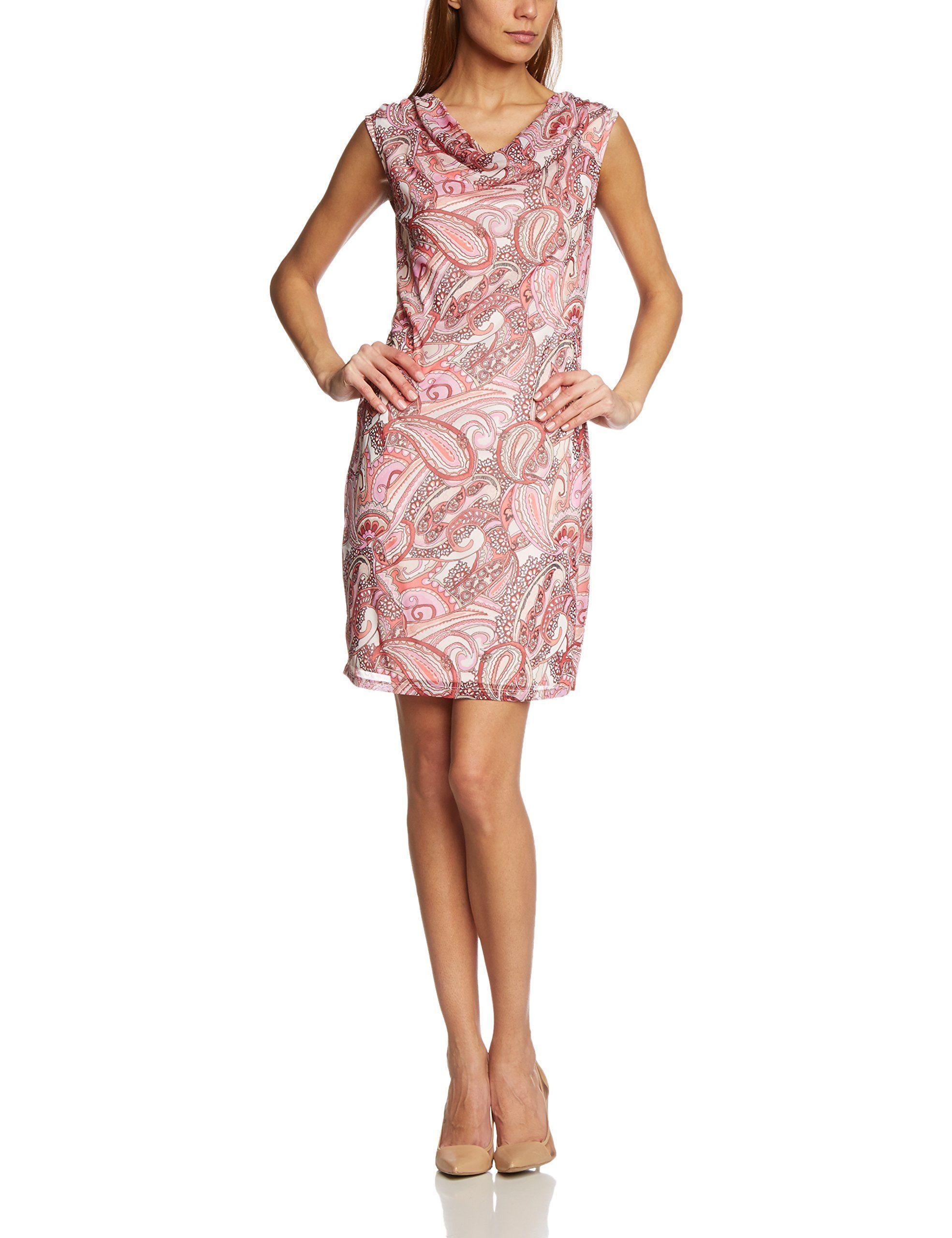 brand new d0ba0 5ef27 s.Oliver Premium Damen Kleid 11.503.82.3389P, Knielang ...