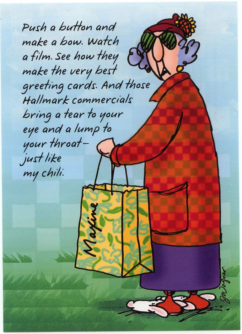 Maxine For Postcard Friendship Friday Old Maxine Gotta Love Her Christmas Humor Friday