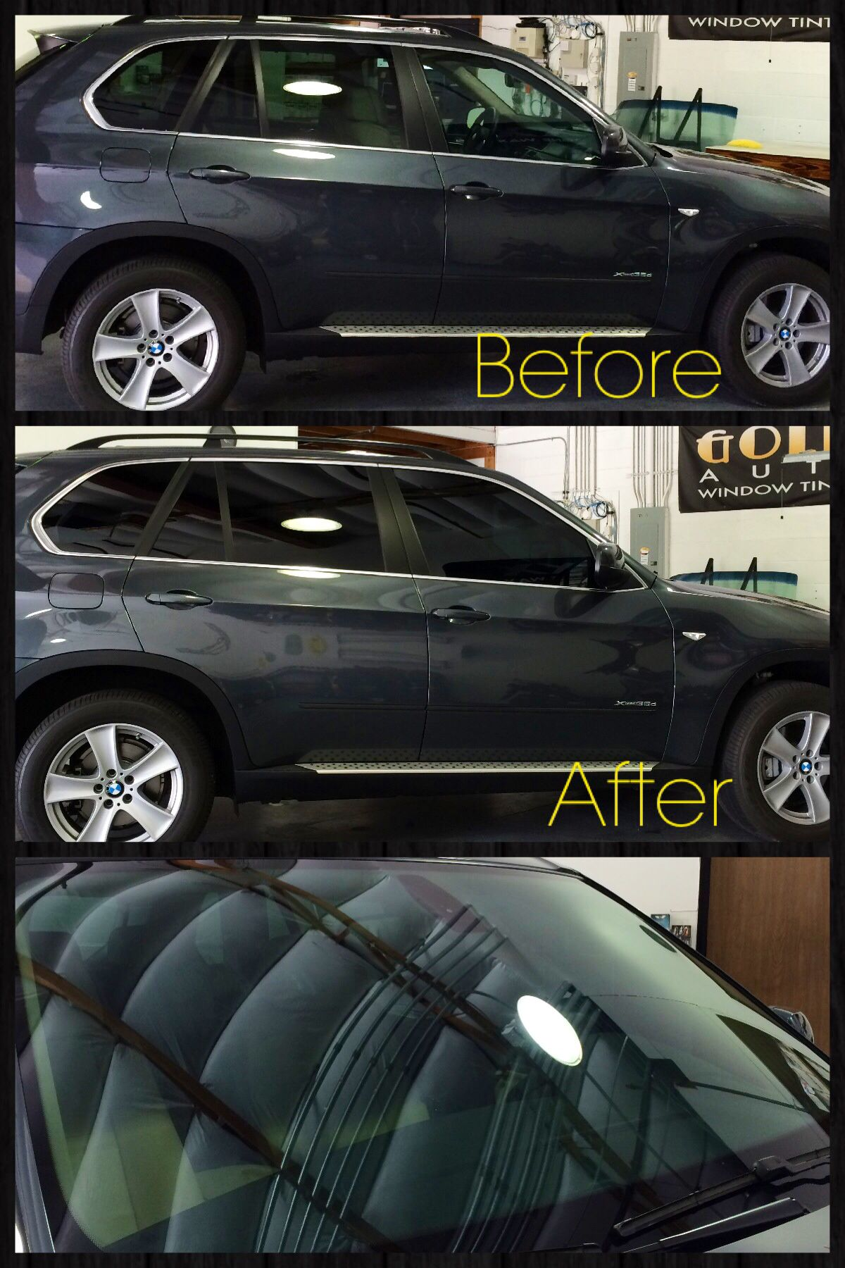 This 2013 bmw x5 found golden state auto care for window tint needs we