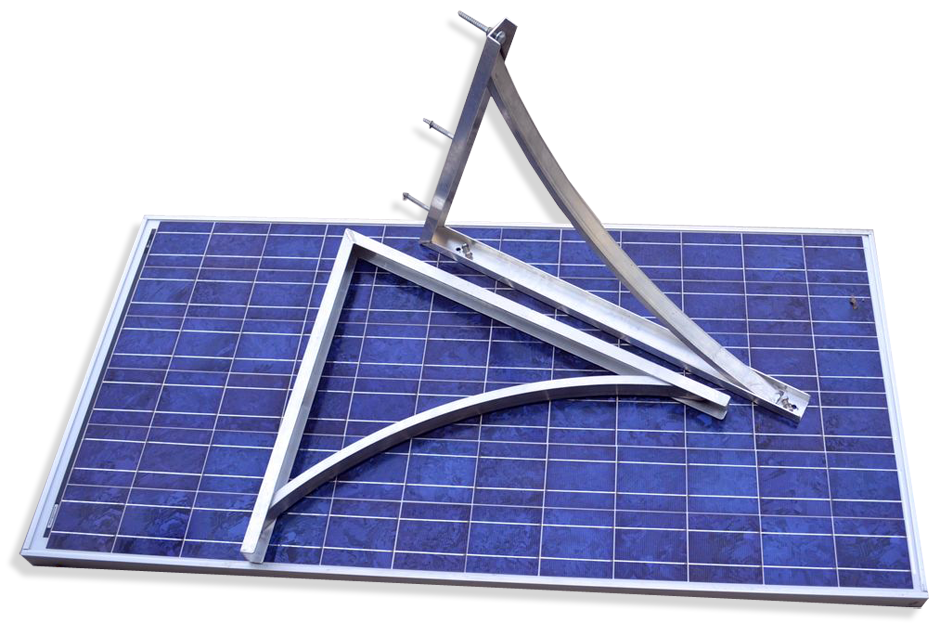 Power Structures Solar Bracket With The Power Structures Solar Awning Bracket Solar Panels Can Be Mounted On Just Solar Panels Solar Panel Installation Solar