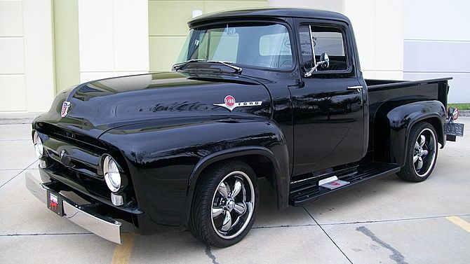 1956 Ford Pickup 402 500 Hp Nos Sheet Metal Mecum Auctions 1956 Ford Pickup Ford Pickup Old Ford Trucks
