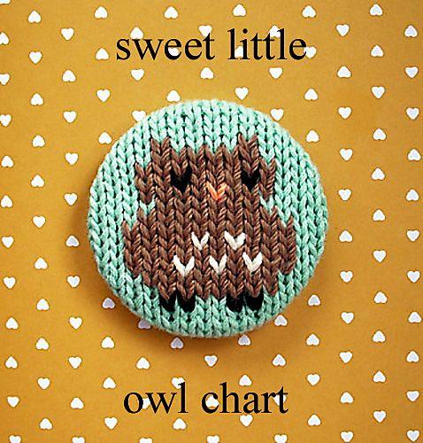 sweet little owl chart by Amanda Ochocki
