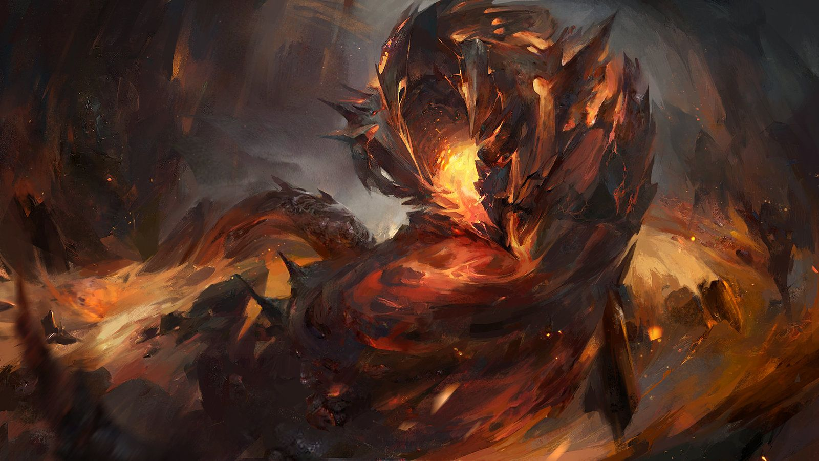 lava worm heroic onslaught alexandra roslik on artstation at https