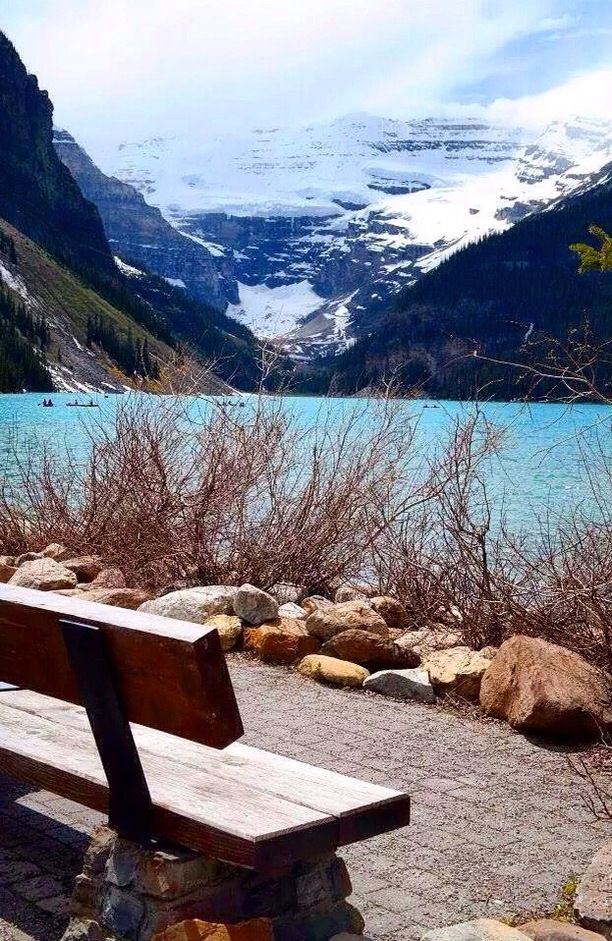 Lake Louise, Alberta — by Sara W. Lake Louise is arguably one of Banff National Park's most famous lakes. The water there is ridiculously blue and...