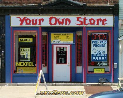 Store Front Sign Generator | Fun Generators | Person cartoon