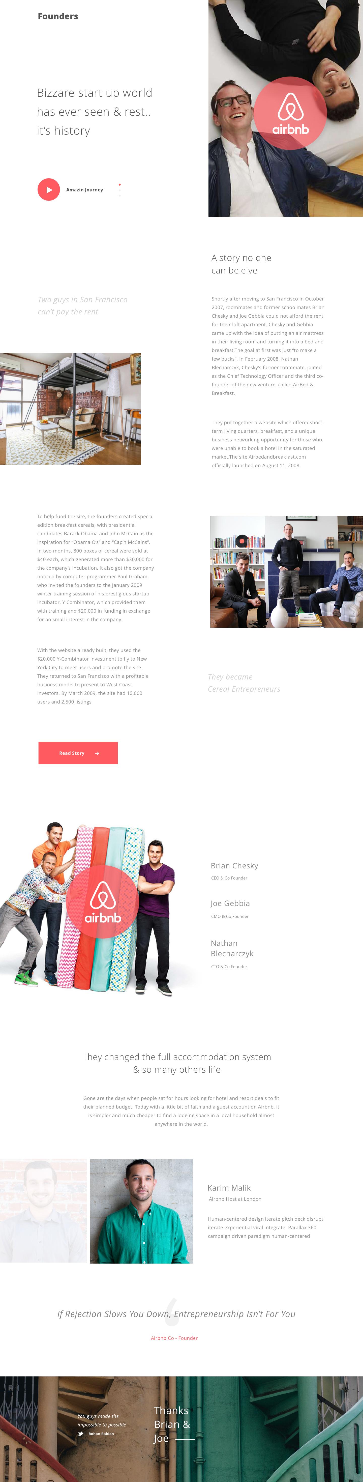 Founders 1 Airbnb Airbnb Design Web Design Simple Web Design