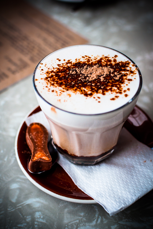 A perfect cappuccino for a perfect morning.