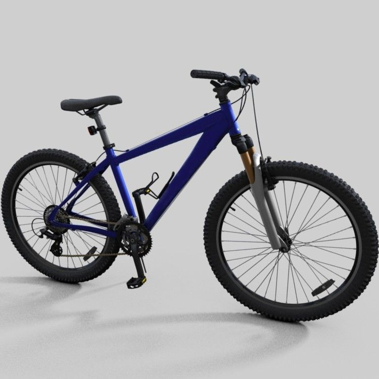 Mountain Bike Specialized Hardrock 3d Model 3d Model 3d