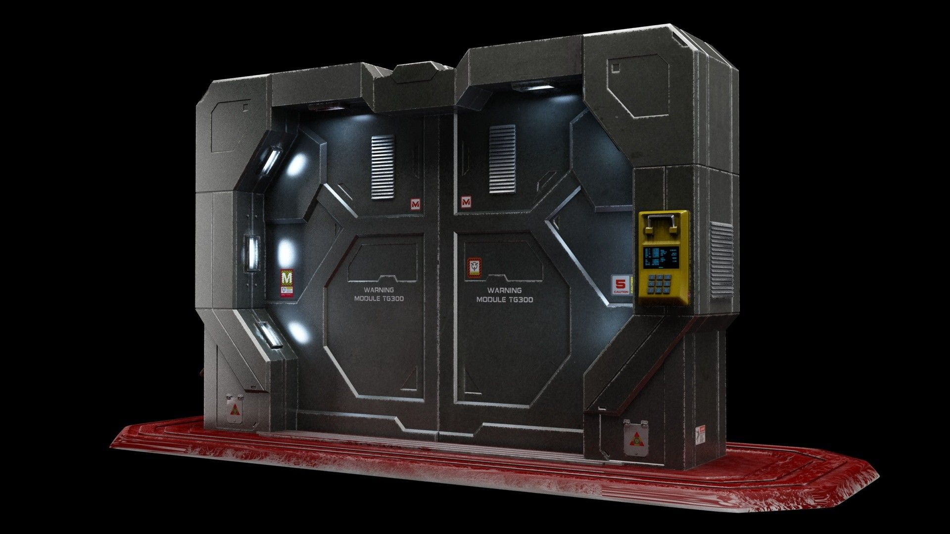 Sci Fi Gate Door Max Sci Fi Doors In 2019 Sci Fi