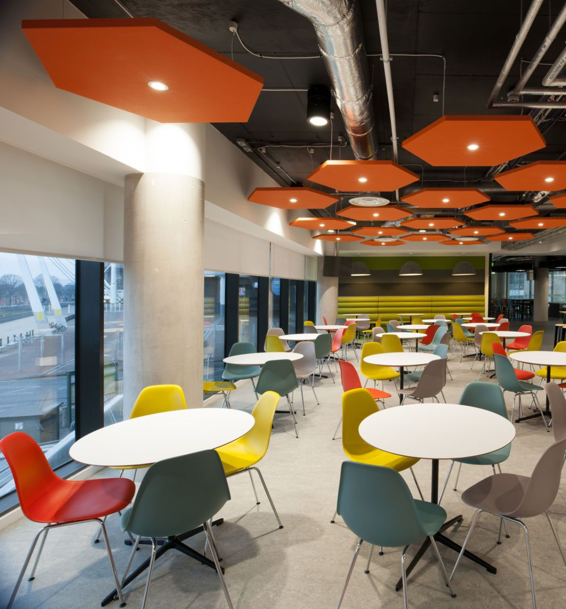 orange cafe chairs office chair big and tall fast track fit out for cardiff based motonovo finance