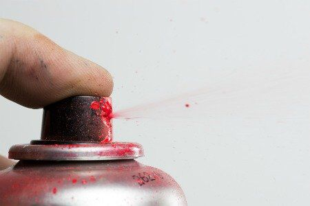 How to Remove Spray Paint Overspray | DIY | Spray paint