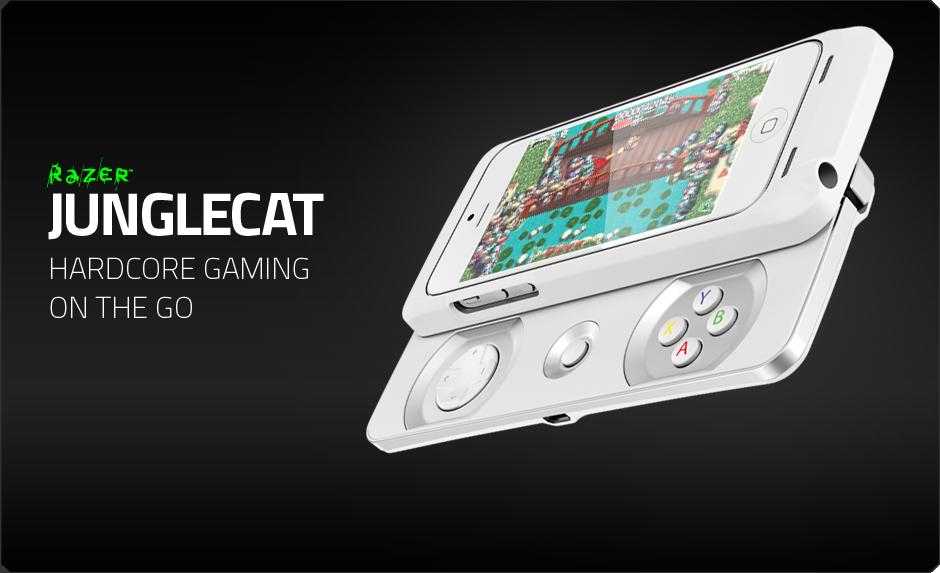 Razer Junglecat Mobile Game Controller for the Apple