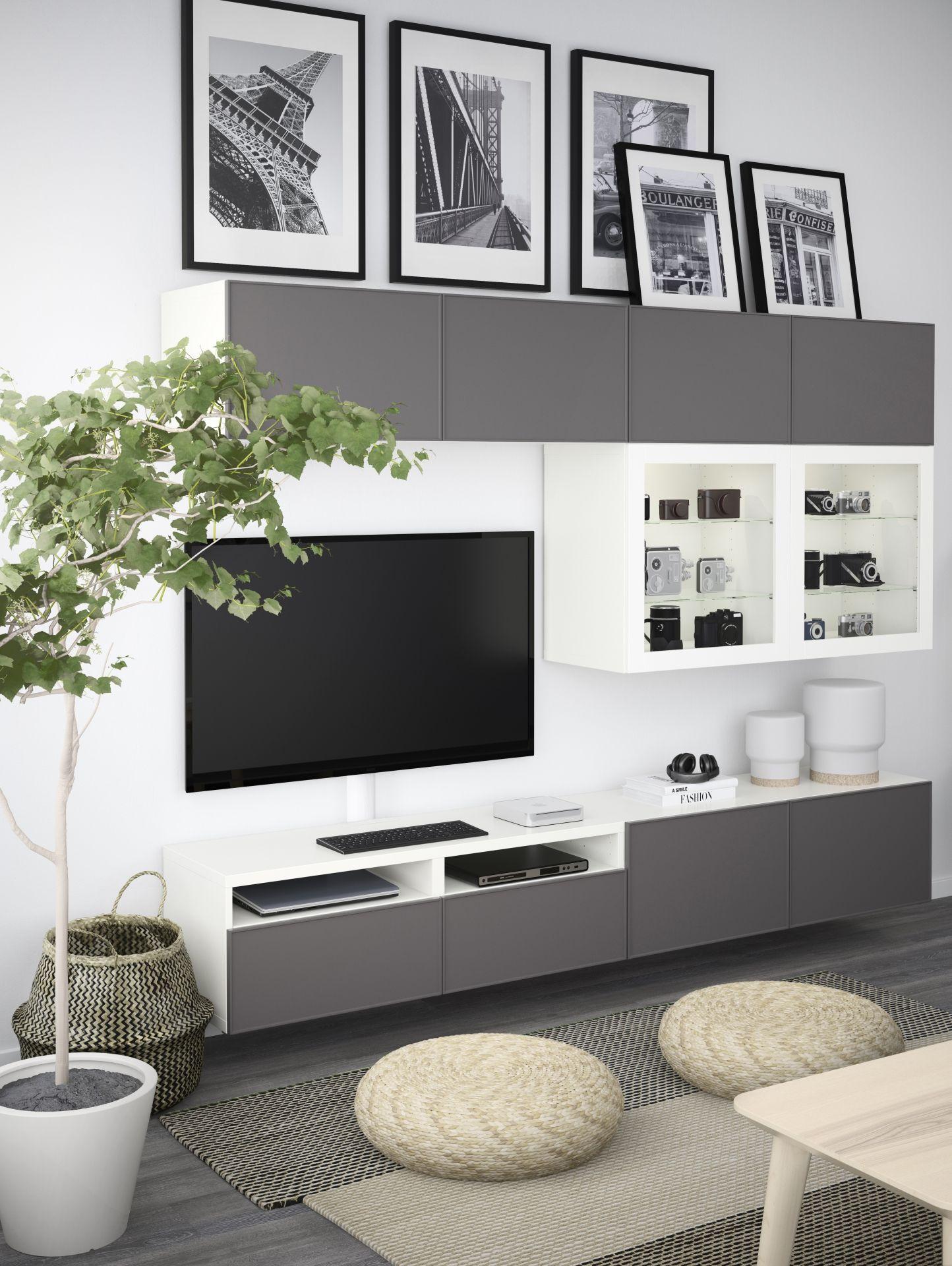 IKEA Deutschland | Das BESTÅ Kannst Du Individuell Planen Und Gestalten So  Das Alles Seine Ordnung Hat Und Aufgeräumt Ist In Deinem Wohnzimmer.
