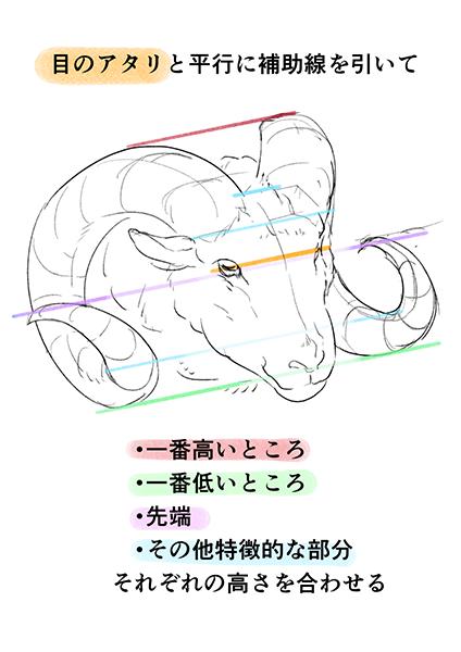 動物にもモンスターにも使えるツノの描き方 Art 描き方スケッチ