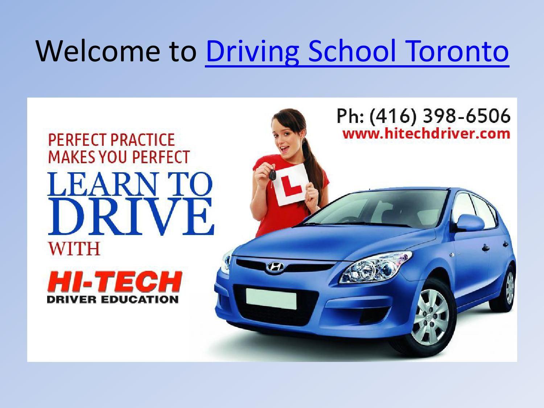 Driving School Toronto