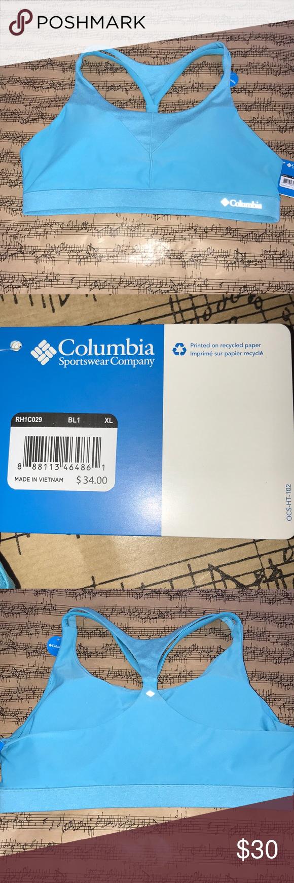 59532b3b3cce9 Columbia Sports bra size XL Columbia sports bra new with tags size XL high  support Columbia Intimates   Sleepwear Bras