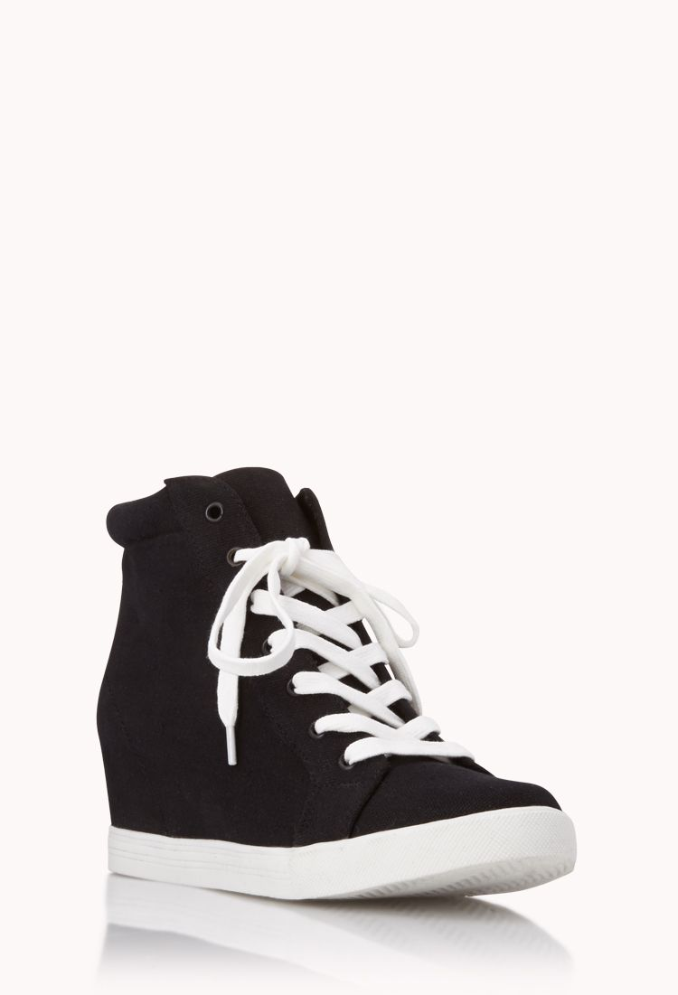 Throwback Wedge Sneakers | FOREVER21