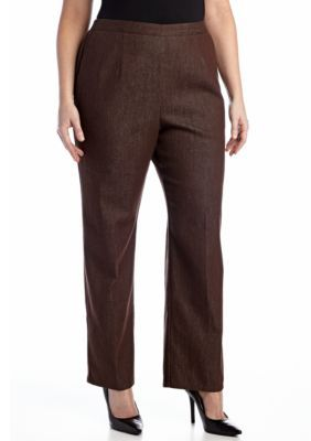 Alfred Dunner  Plus Size San Antonio Proportional Pull-On Pant