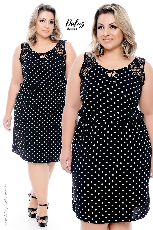 982740cb5 Vestido Plus Size - Coleção Alto Verão 2018 - www.daluzplussize.com ...
