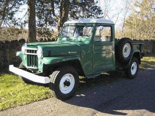 1956 Willys Pickup Vintage Pickup Trucks Classic Cars Trucks