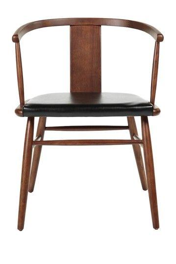 Control Brand Vardo Black Walnut Arm Chair Walnut Armchair Furniture Dining Chairs Dining Chairs