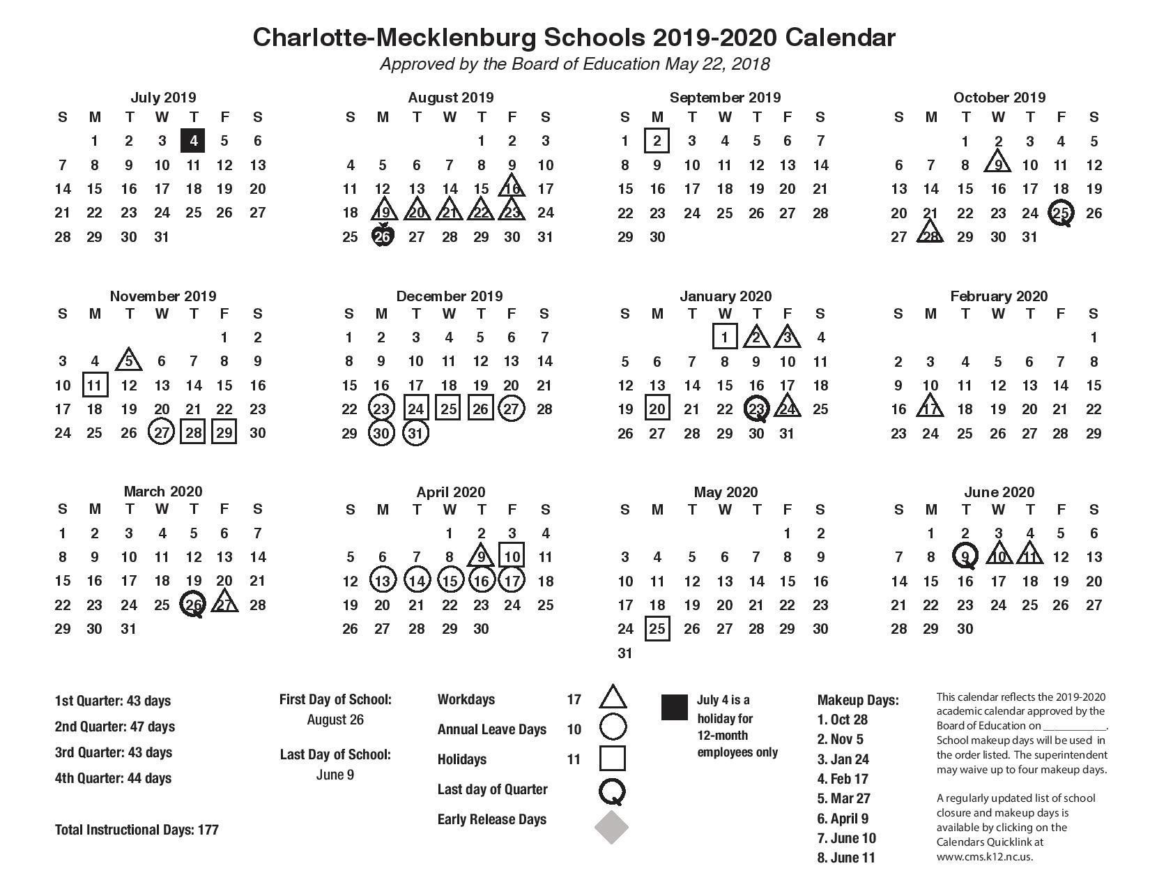 Cms School Calendar With Holidays Images Pictures Https Www Youcalendars Com Cms School Calendar Html School Calendar Academic Calendar Holiday Images