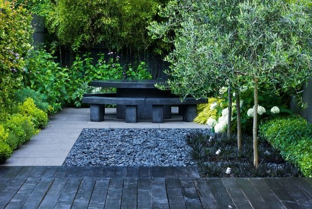 Aménagement paysager moderne: 104 idées de jardin design | Zen ...