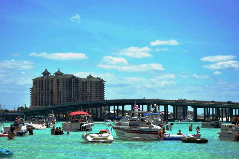 Crab island destin cruises boat rentals things to do in