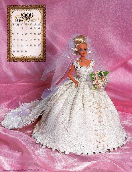 Miss March of 1999 Master Crochet Guild Bridal by MoonDancerCrafts