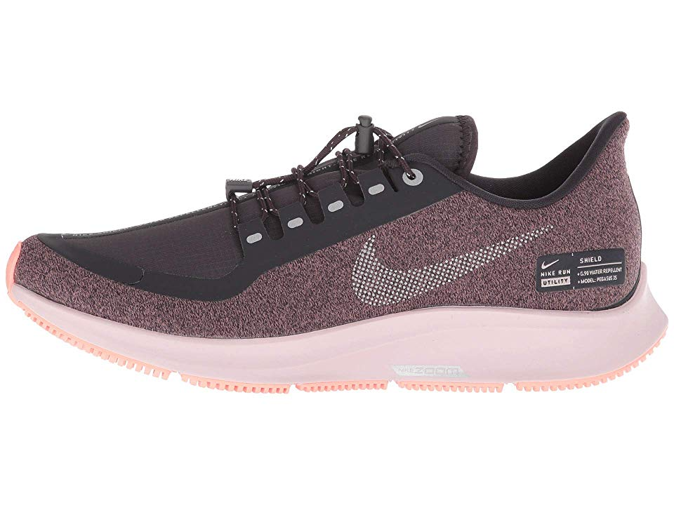 new products 71993 a6200 Nike Air Zoom Pegasus 35 Shield Women s Running Shoes Oil Grey Metallic  Silver Smokey Mauve