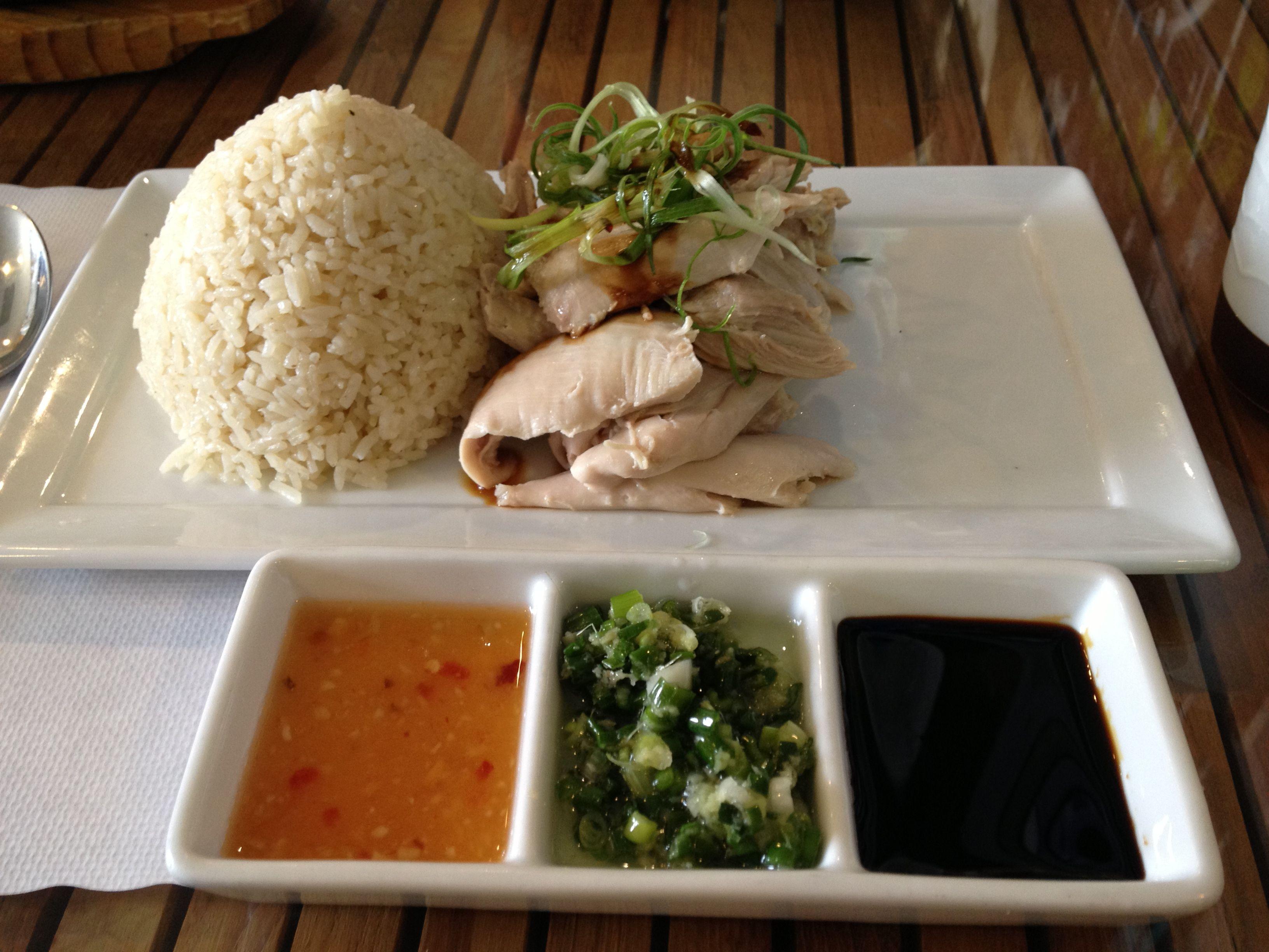 organic hainan chicken rice Green Zone 534 E Valley