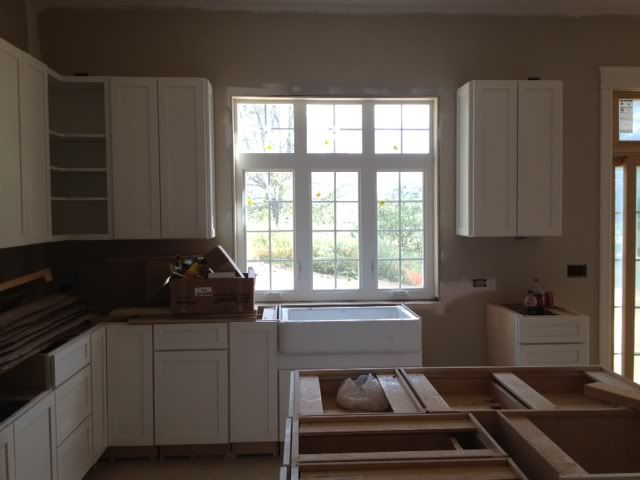 Looking For Pics Of Kohler Whitehaven Installed Kitchen Redo Kohler Whitehaven Whitehaven
