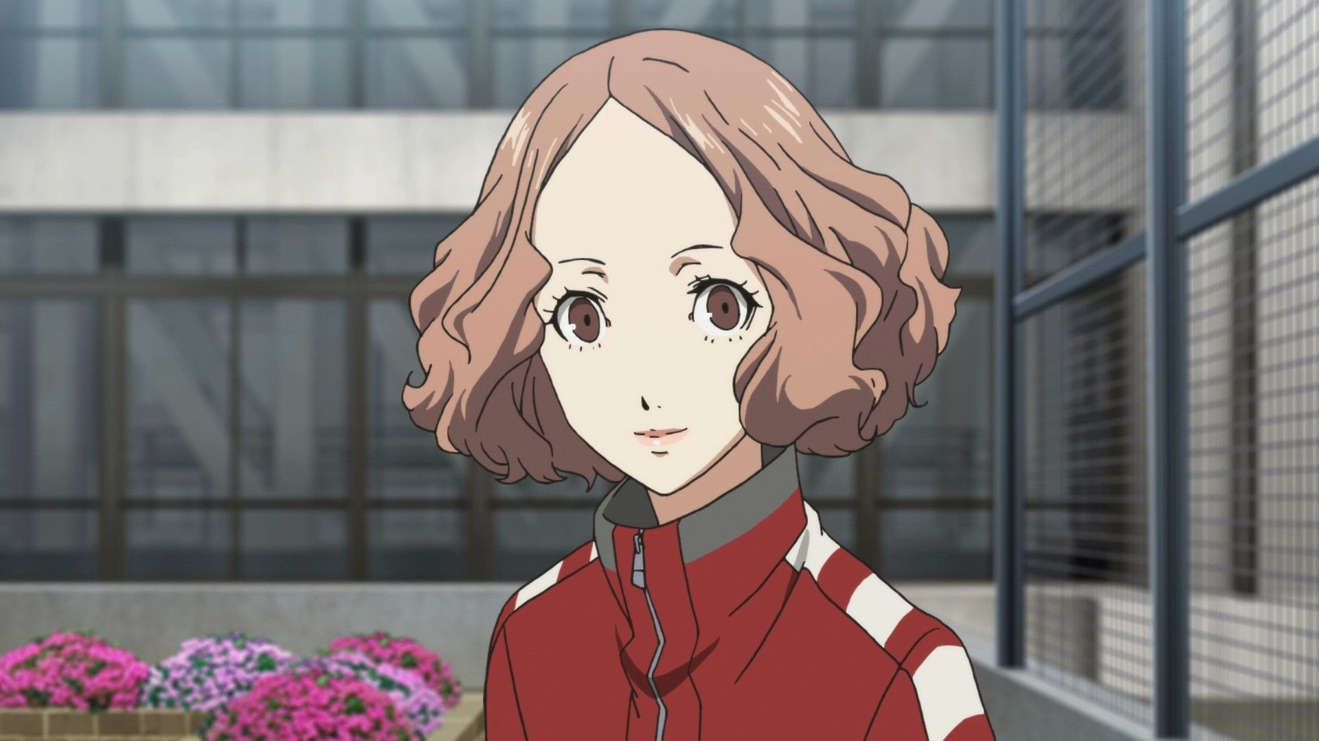 Haru With Her Roof Garden With Images Persona 5